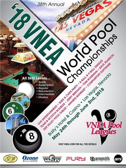 2018 Vnea World Pool Championships Vnea